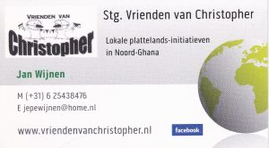 Visitekaartje Jan Wijnen