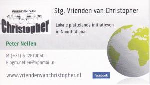 Visitekaartje Peter Nellen